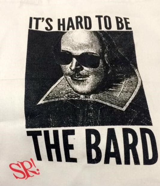 It's hard to be the Bard