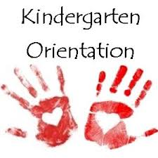 New Date for Kindergarten Orientation/Play Date