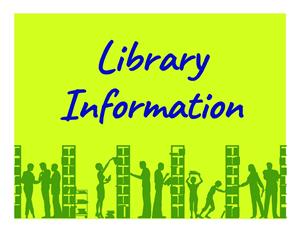 Library Info Graphic