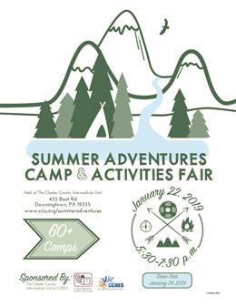 Chester County Adventures Camp and Activities Fair