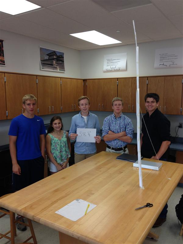 Tower Design Winning Team