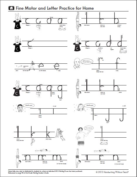 handwriting without tears worksheets Free handwriting, copywork, and writing resources includes print, manuscript, zaner-bloser, d'nealian, cursive, and handwriting without tears.